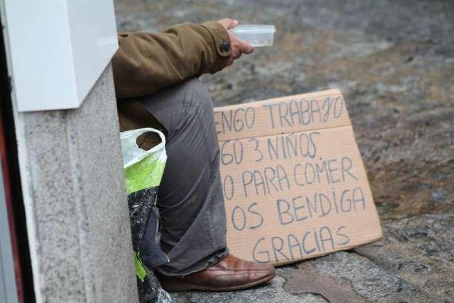 La tasa de personas en riesgo de pobreza se eleva un 1,2% en C-LM hasta las 773.700, un 38% de la población total