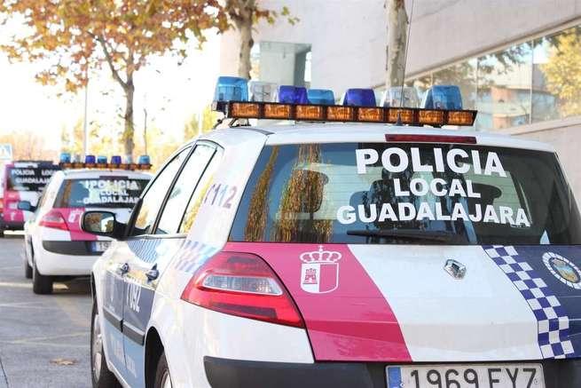 Detenido en Guadalajara un conductor que tras chocar contra tres vehículos dio 0,95 en la alcoholemia