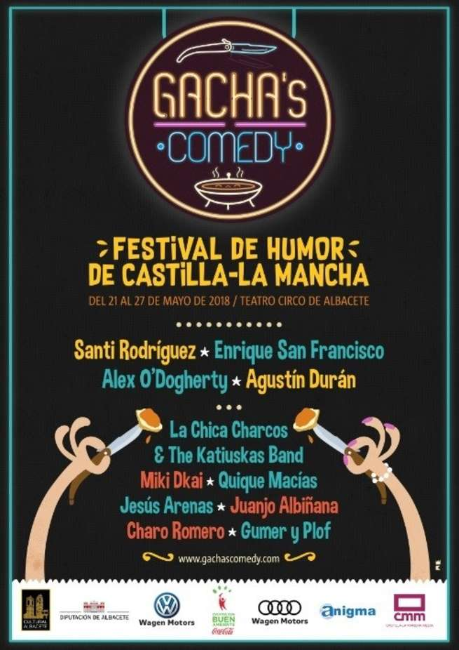Castilla-La Mancha Media busca al mejor mologuista de la región dentro del festival 'Gacha's Comedy'