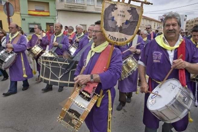 Tobarra arranca este Miércoles Santo sus 104 horas ininterrumpidas de toque de tambor