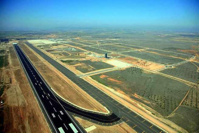 Técnicos aeronáuticos dan luz verde al espacio aéreo del aeropuerto de Ciudad Real, que podría aprobarse en breve