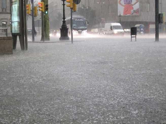 El 112 registra 20 incidentes motivados por la intensa lluvia en la provincia de Guadalajara