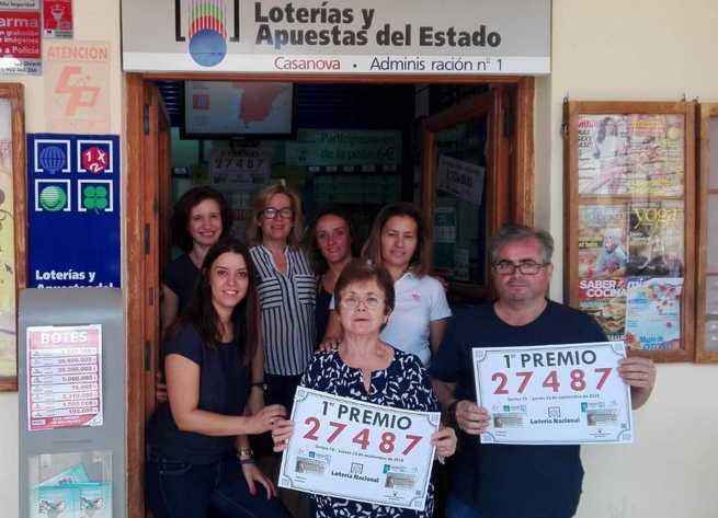 Un número al que la Administración nº 1 estaba abonada 40 años deja 1,5 millones de euros en Villanueva de los Infantes