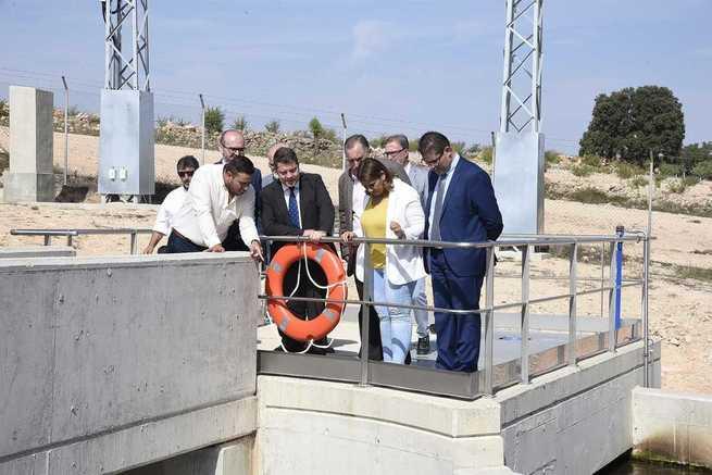 Las recién inauguradas depuradoras de Pozo Cañada y Hoya Gonzalo abastecerán a una población de hasta 7.500 habitantes