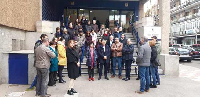 Docentes y personal de Educación de Ciudad Real se han sumado a las muestras de repulsa por el asesinato de la profesora Laura Luelmo