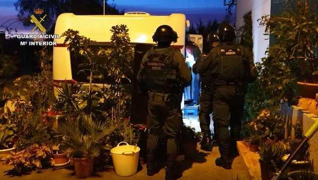 Desmantela una organización criminal con conexiones en Francia y Marruecos estructurada en tres células