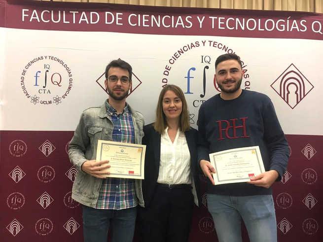 La UCLM hace entrega del segundo premio  Pernod Ricard en Ciencia y Tecnología de Alimentos