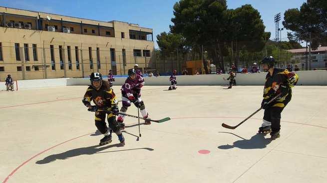Los alevines Donqui Hockey de Alcázar, campeones de Castilla La Mancha