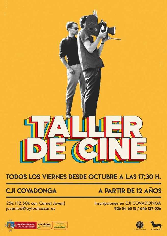La Concejalía de Juventud organiza un Taller de Cine en el Centro Joven La Covadonga