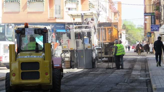 Manzanares pone en marcha un ambicioso plan de asfaltado de calles