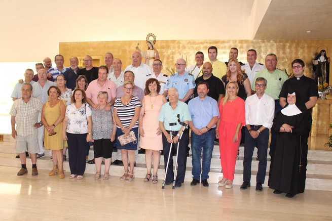Los hosteleros de Alcázar celebran el día de Santa Marta con la tradicional misa en la residencia de ancianos