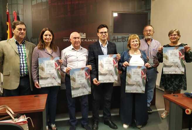 Chinchilla de Montearagón presenta en la Diputación provincial de Albacete la III edición de su Certamen Nacional de Folclore