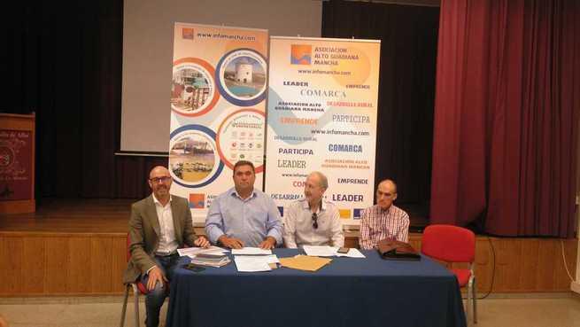 Pedro Antonio Palomo Mata, alcalde de Carrizosa, nuevo presidente de la Asociación Alto Guadiana Mancha
