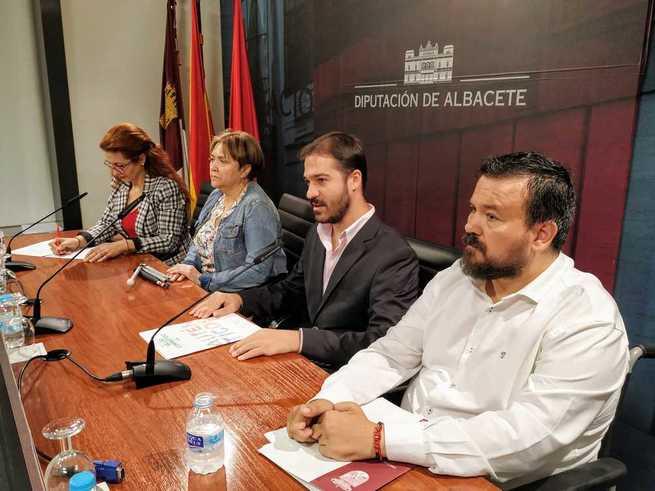 La ONCE elige la Diputación de Albacete como escenario para presentar su XXIX semana temática de sensibilización social