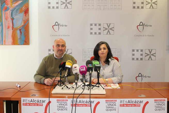 Presentadas en Alcázar las actividades complementarias al Concurso Regional de vinos de la Tierra del Quijote