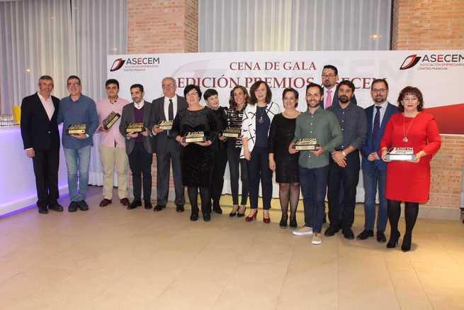ASECEM premió la innovación, trayectoria y empuje de los empresarios alcazareños