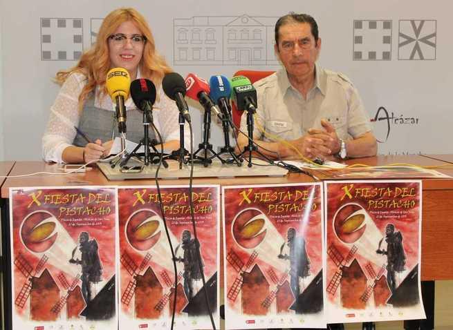 Presentada la X Fiesta del Pistacho de Alcázar con actividades para todos y degustación de recetas
