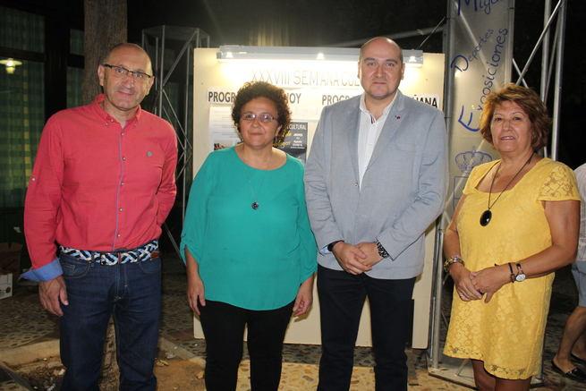 El Gobierno regional muestra su apoyo a la Semana Cultural de Corral de Calatrava
