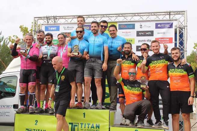 La X Titán de La Mancha congregó a 2288 ciclistas en Alcázar de San Juan