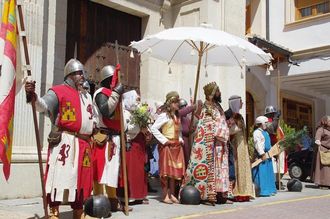 Todo listo para el comienzo de la XVIII edición de La Alvarada medieval de Cañete