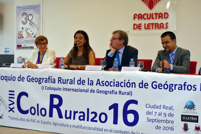 """Zamora """"Debatir de políticas de desarrollo comunitarias siembre es beneficioso para Ciudad Real"""""""