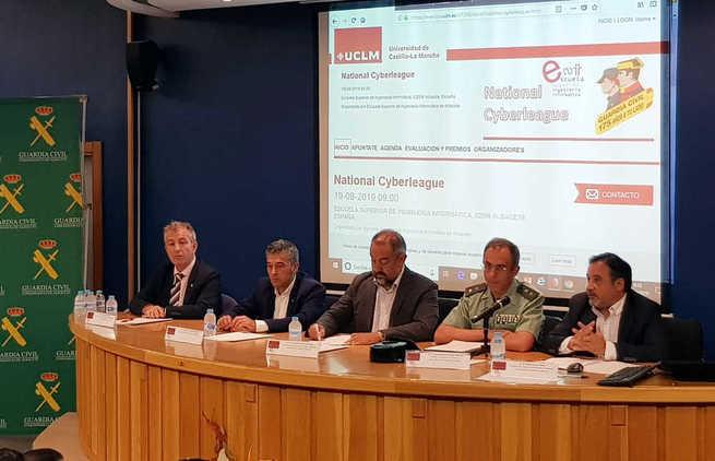 La UCLM participa en una nueva competición de la Guardia Civil para descubrir talentos en ciberseguridad