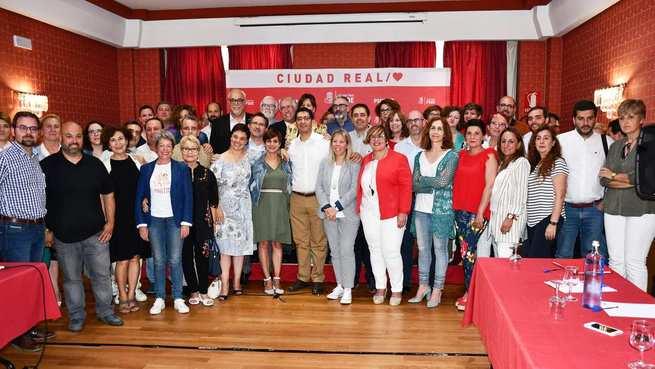 La Ejecutiva Provincial del PSOE propone por unanimidad a José Manuel Caballero para presidir la Diputación de Ciudad Real otros cuatro años más