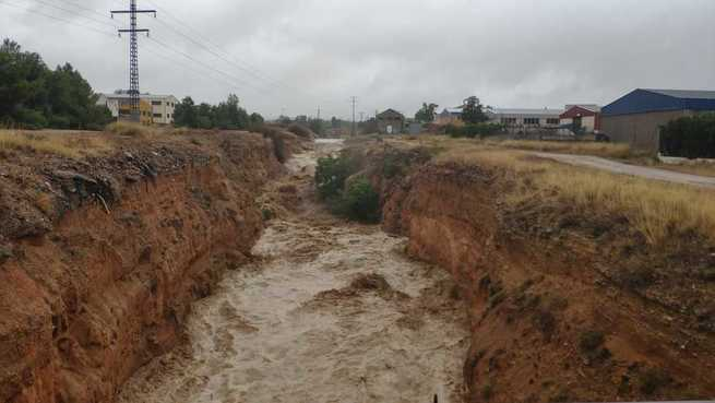 El SEPEI duplica los efectivos en el parque de Almansa con el nivel 1 de emergencia activado en esta comarca por la Dirección General de Protección Ciudadana