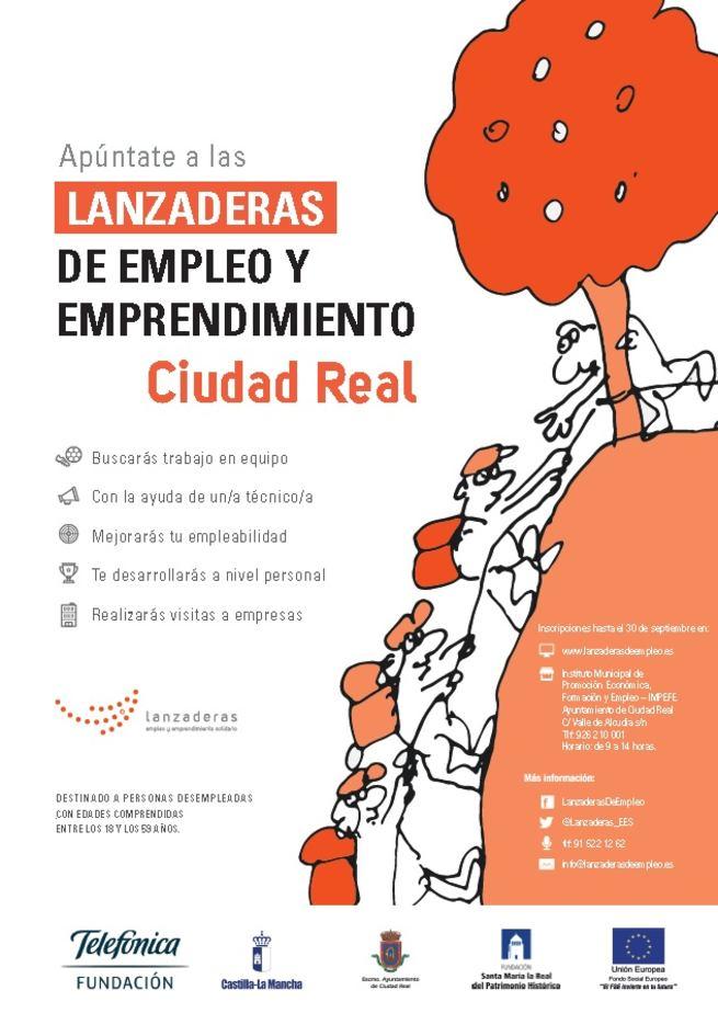 Ciudad Real tendrá en octubre una Lanzadera de Empleo
