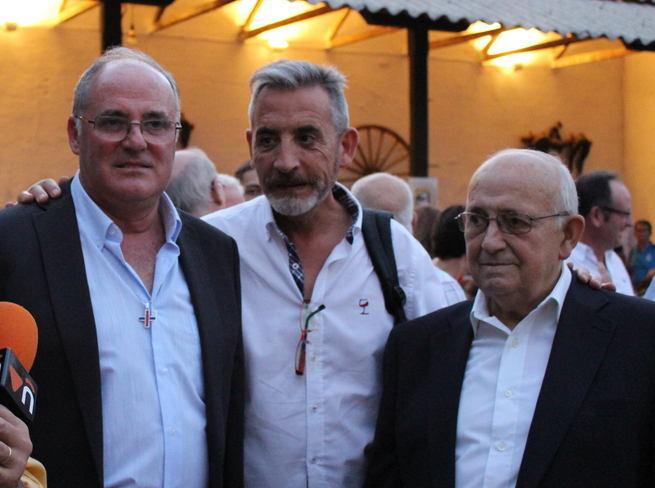 """Martín asistió a la presentación del libro 'Mi tío Pepe, el labrador"""", un homenaje a los agricultores"""