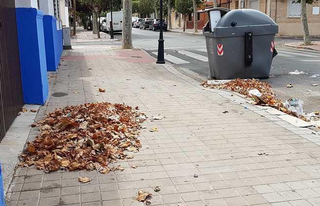 El PP municipal reclama al Equipo de Gobierno  de PSOE y Ciudadanos que tome medidas urgentes para acabar con la suciedad de Ciudad Real