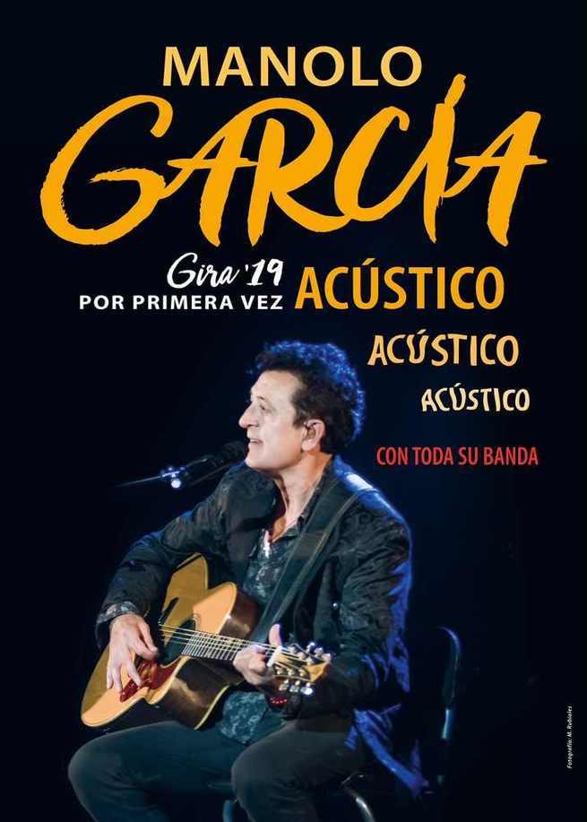 Agotadas en dos horas las entradas para el inicio  de la gira de Manolo García en Ciudad Real