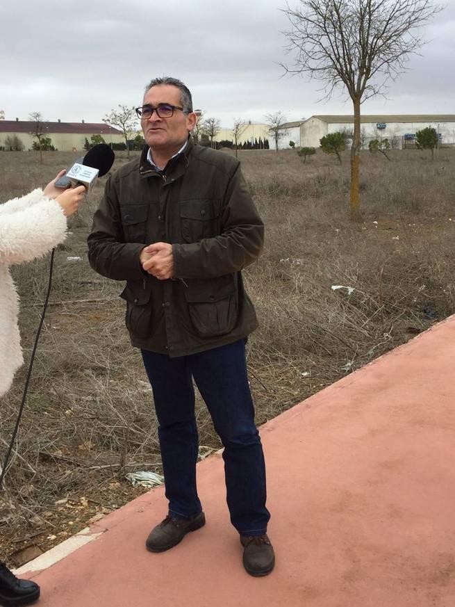 """El PP de Villarrobledo denuncia el abandono del Polígono Industrial  """"Juan Domingo Ortega"""""""