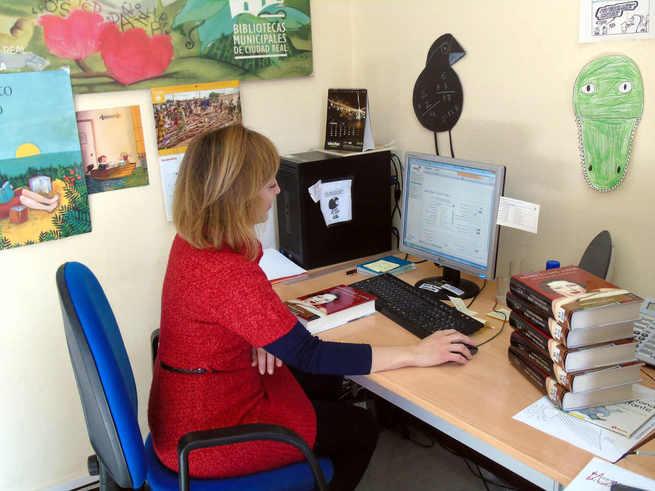 Seis trabajadores del Plan de Empleo de Ciudad Real apoyan la labor de unas Bibliotecas Municipales llenas de vida
