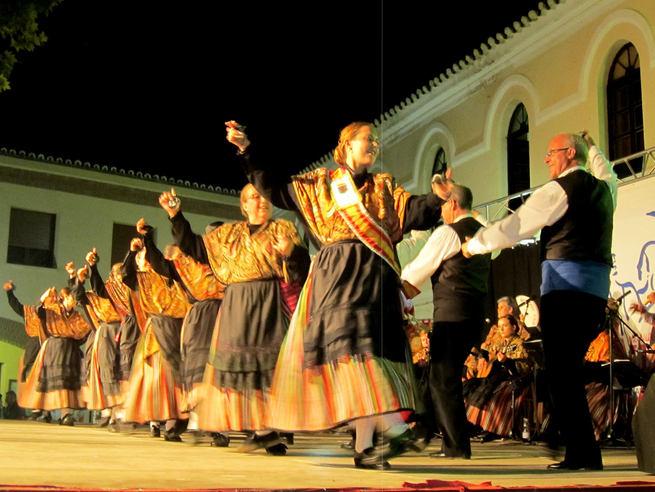 Flamenco, folkore y fragmentos de musicales llenaron en Villacañas las últimas tres noches de Preferia