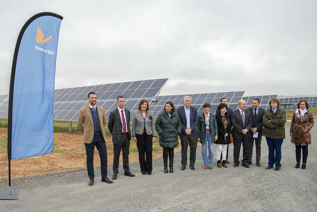 Naturgy presenta la planta fotovoltaica La Nava en Ciudad Real