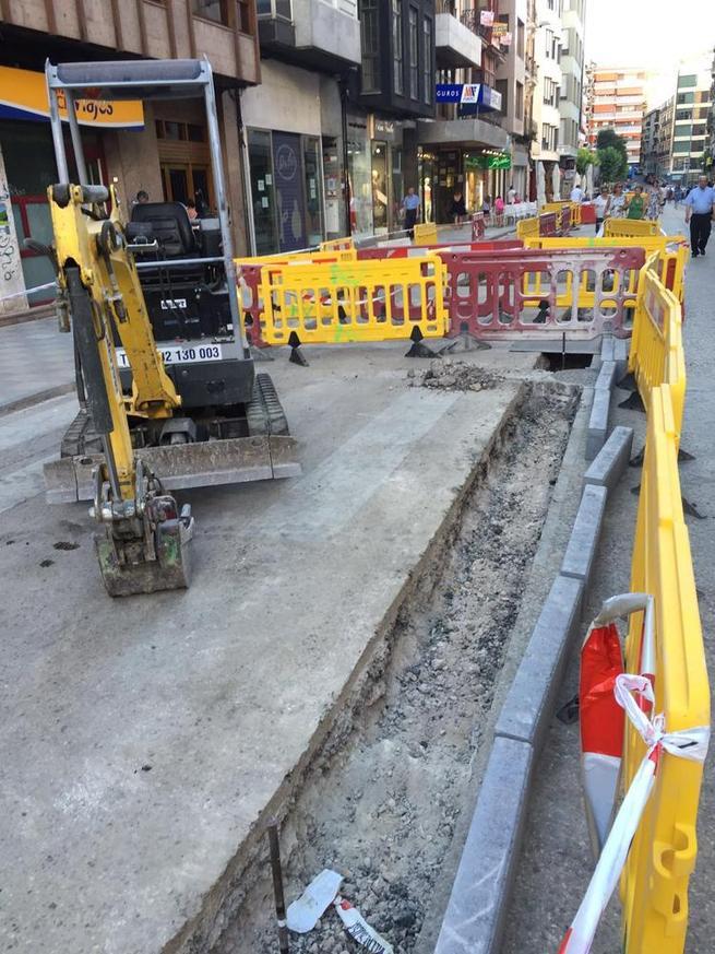 Imagen: El viernes comenzarán en Cuenca los trabajos de fresado y asfaltado de Carretería