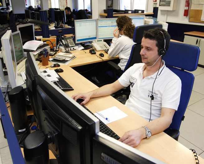 El Servicio de Emergencias 1-1-2 atendió 3.699 llamadas procedentes durante Nochebuena y Nochevieja, un 12 por ciento menos que en 2017