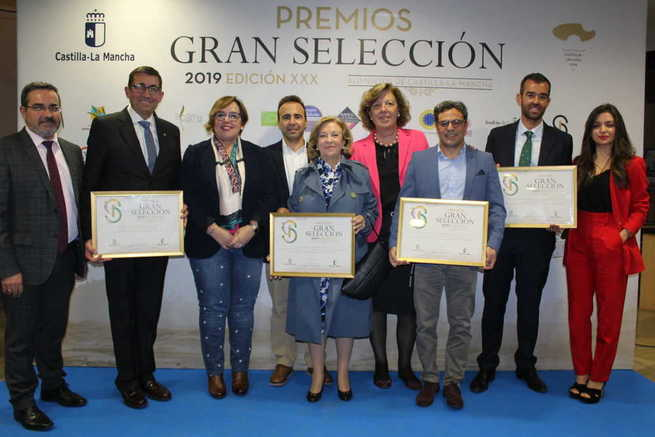 El Gobierno de Castilla-La Mancha reconoce a seis empresas de Ciudad Real en los premios Gran Selección 2019