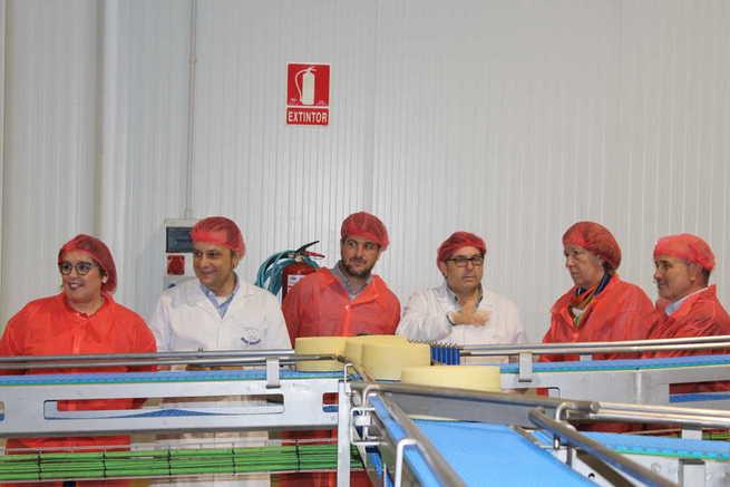 El Gobierno de Castilla-La Mancha contribuye a la ampliación y mejoras tecnológicas en 'Quesería Aldonza y Don Ismael' con una inversión de más de 613.000 euros