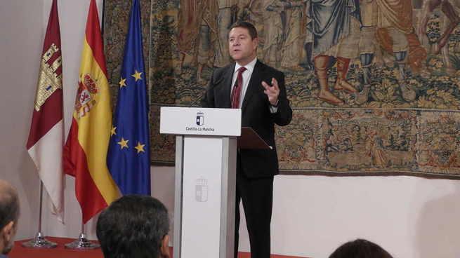 """Objetivo de García-Page para Castilla-La Mancha, """"crecer para repartir"""""""