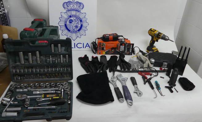 Detenidos infraganti en Toledo cuando trataban de robar en una clínica del Barrio de Santa Teresa