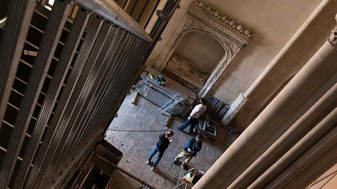 Imagen: Tres trailers de grandes dimensiones y un camión traerán la obra de Ai Weiwei a la ciudad de Cuenca proveniente de Londres