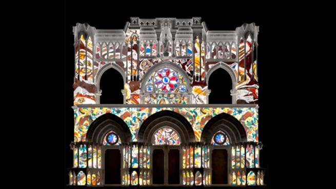 La Catedral de Cuenca acoge este fin de semana las primeras proyecciones del video mapping con motivo de 'La Poética de la Libertad'