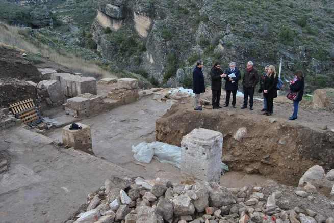 El Gobierno de Castilla-La Mancha estudia la declaración como parque arqueológico del Yacimiento Romano de Valeria ante la entidad de los hallazgos