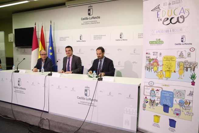 """Castilla-La Mancha batirá récord histórico en recogida selectiva en 2018 alcanzando ya las """"cifras objetivo"""" marcadas para el año 2020"""