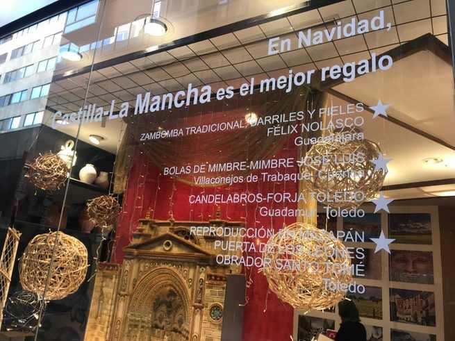 La Oficina de Castilla-La Mancha, en la Gran Vía de Madrid presenta su programación de actividades de Navidad