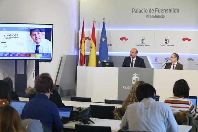 Castilla-La Mancha pone en marcha un Portal de Compromisos para rendir cuentas de su acción de gobierno