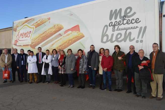 El Gobierno regional conoce las instalaciones de 'Productos Arenas', un referente empresarial de dulces y alimentación