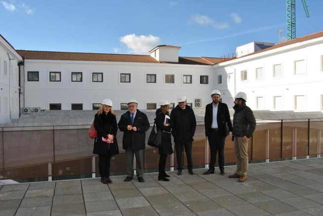 Finalizadas las obras del IES 'Alfonso VIII' de Cuenca el 28 de febrero y espera respuesta del Ayuntamiento de Cuenca sobre el acceso y el parking